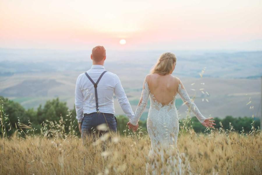 Jennifer& Ross {Married Tuscany Italy}