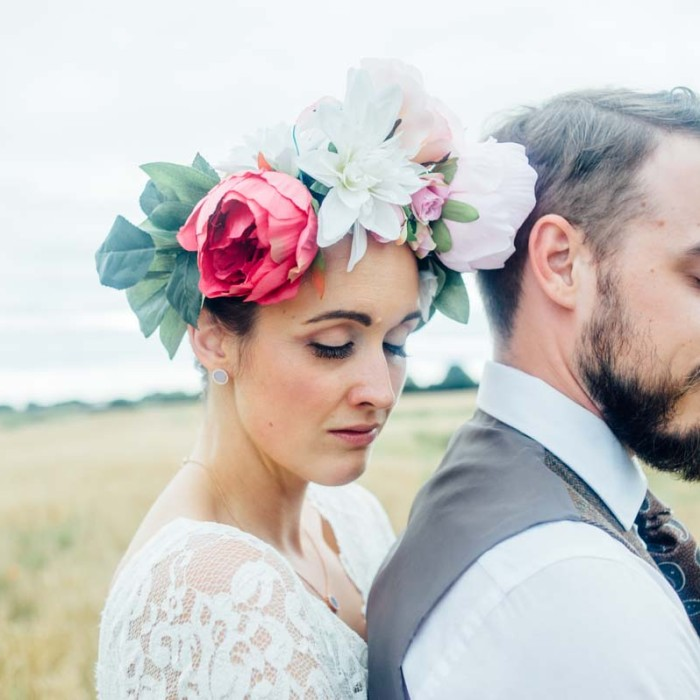 Liz and Ben- homespun Oswestry rustic wedding