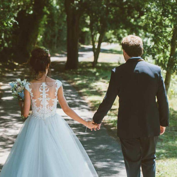 Kate & Alex Weston-Super-Mare Tipi wedding